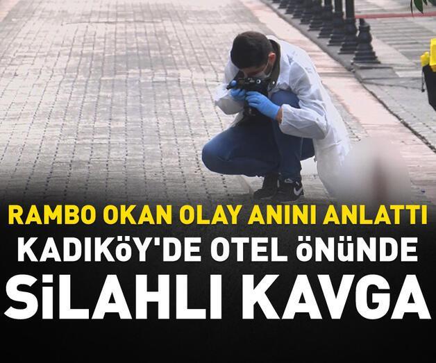 Son dakika: Kadıköy'de otel önünde silahlı kavga