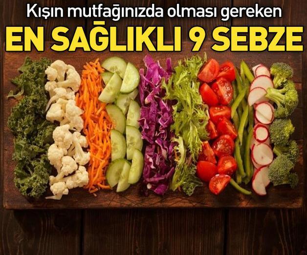 Son dakika: En sağlıklı 9 sebze