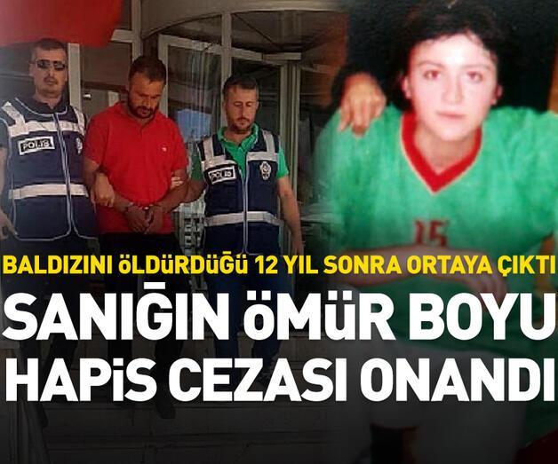 Son dakika: Baldız cinayeti sanığına ömür boyu hapis cezası