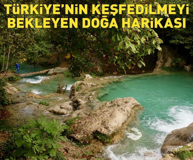 Son dakika: Türkiye'nin keşfedilmeyi bekleyen doğa harikası!
