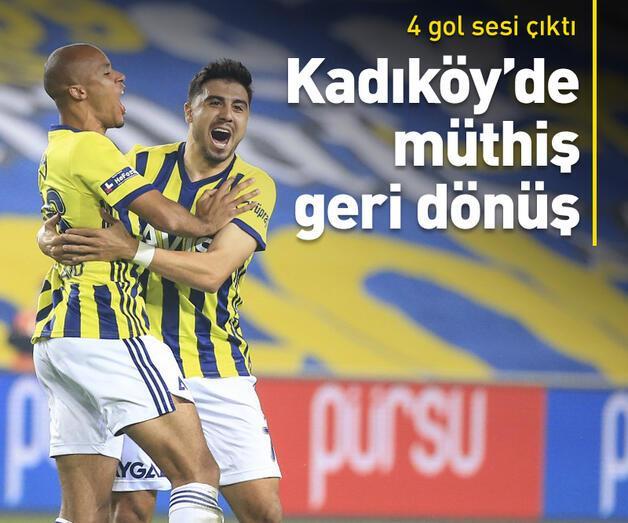 Son dakika: Fenerbahçe'den 3 gollü geri dönüş