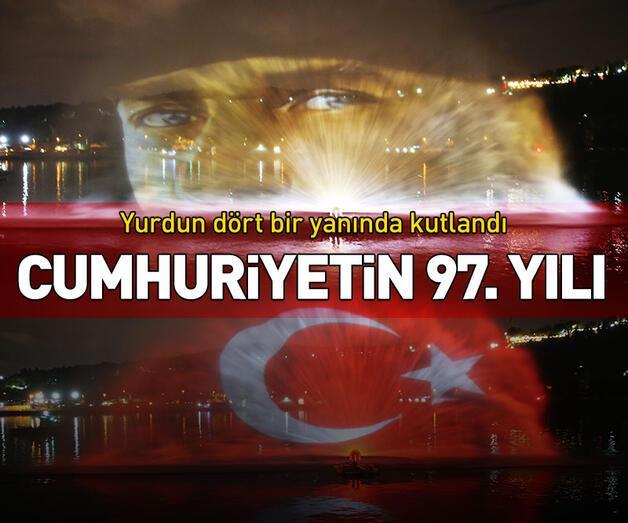 Son dakika: Cumhuriyetin 97. yılı