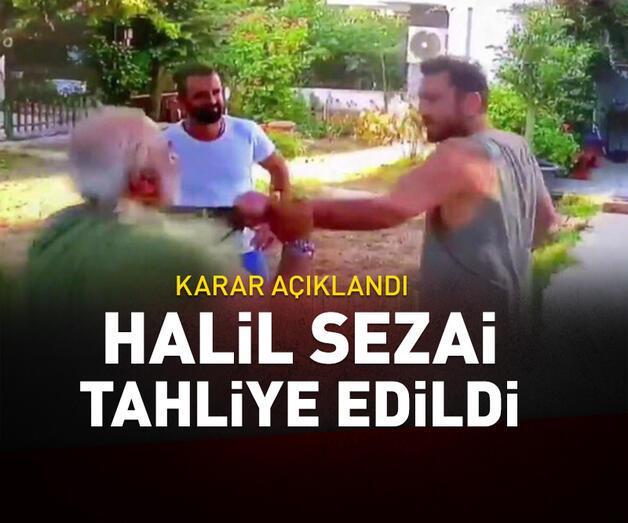 Son dakika: Son dakika... Halil Sezai tahliye edildi