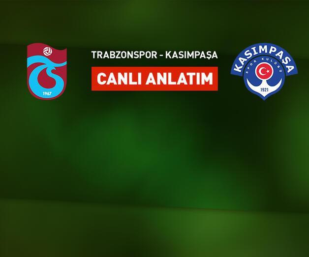 Son dakika: Trabzonspor'un konuğu Kasımpaşa