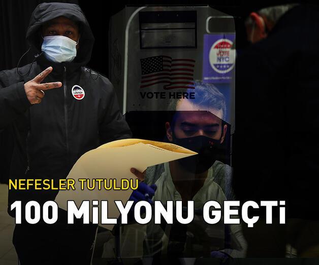 Son dakika: Erken oy sayısı 100 milyonu aştı