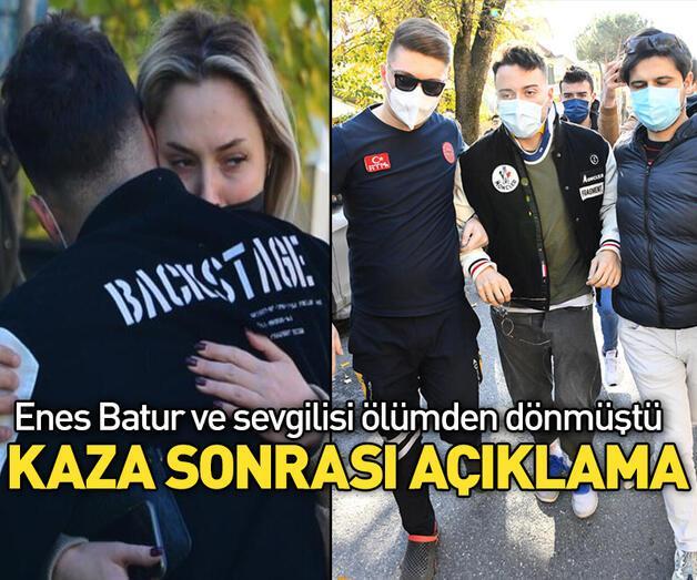 Son dakika: Enes Batur'dan kaza sonrası açıklama