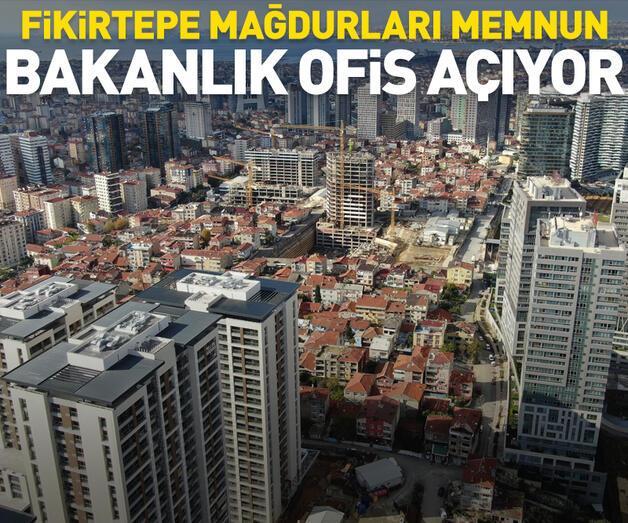 Son dakika: Fikirtepe mağdurları memnun, bakanlık ofis açıyor