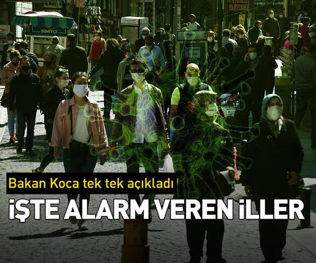 Son dakika: Alarm veren şehirler