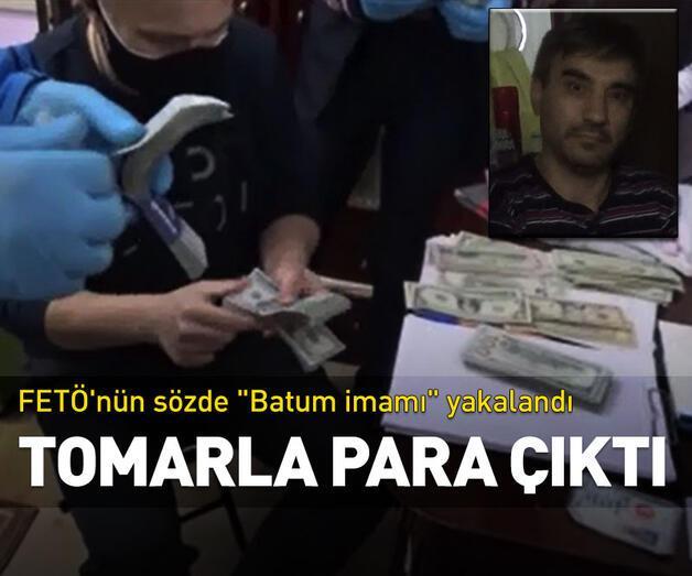 """Son dakika: FETÖ'nün sözde """"Batum imamı"""" yakalandı"""