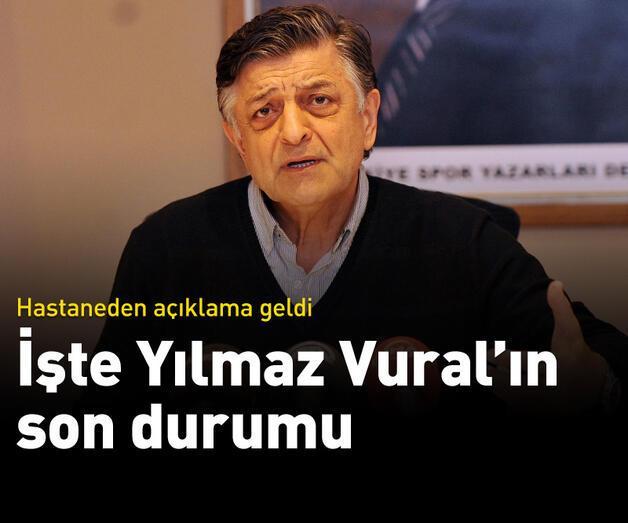 Son dakika: Yılmaz Vural'ın sağlık durumuyla ilgili açıklama