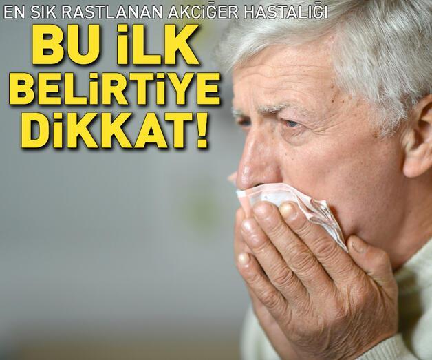 Son dakika: En sık rastlanan akciğer hastalığı!