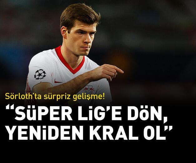 "Son dakika: Sörloth'a ""Süper Lig'e dön, kral ol"" mesajı!"
