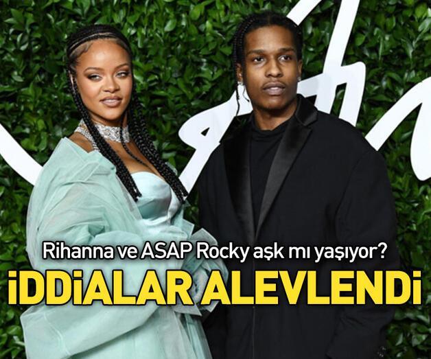 Son dakika: Rihanna ile ASAP Rocky aşk mı yaşıyor?