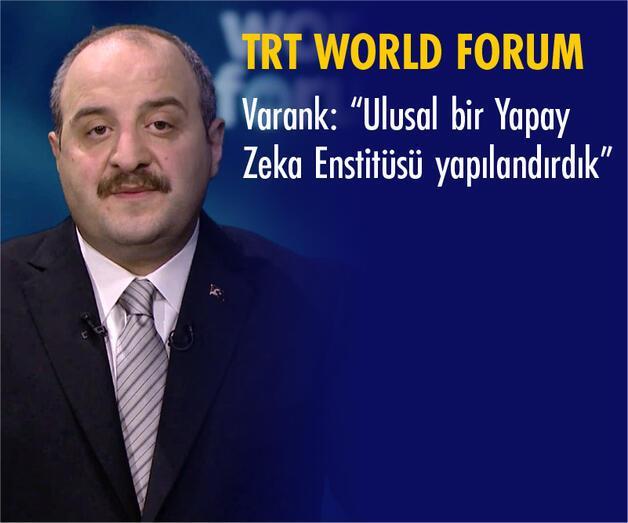 Son dakika: Bakan Varank TRT World Forum 2020'de Müjdeyi Verdi