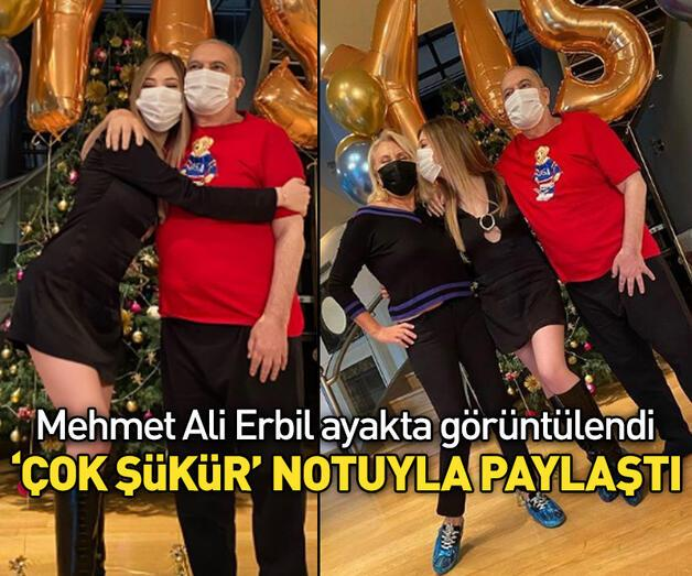 Son dakika: Mehmet Ali Erbil ayağa kalktı!