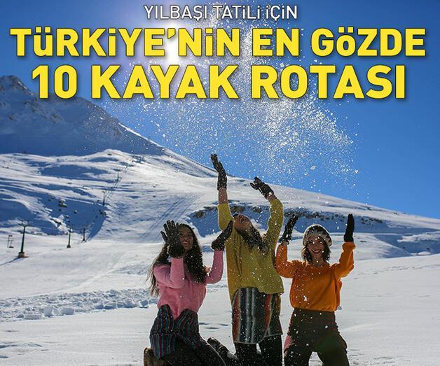 Son dakika: Türkiye'nin en gözde 10 kayak rotası!