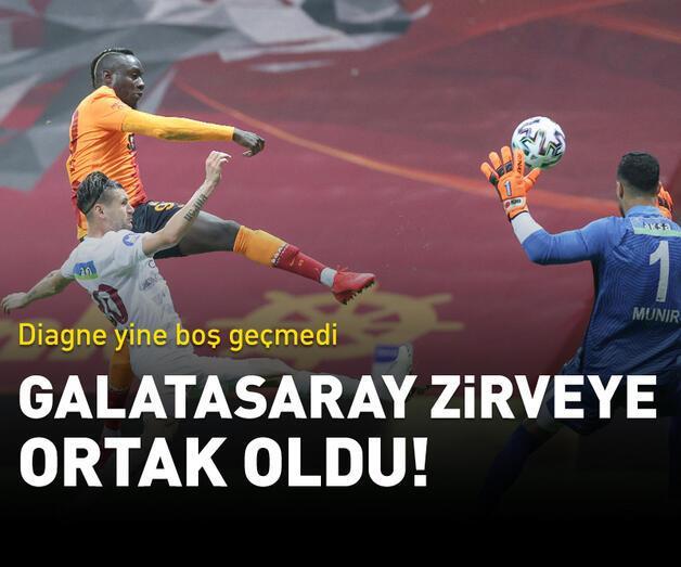 Son dakika: Galatasaray zirveye ortak oldu!