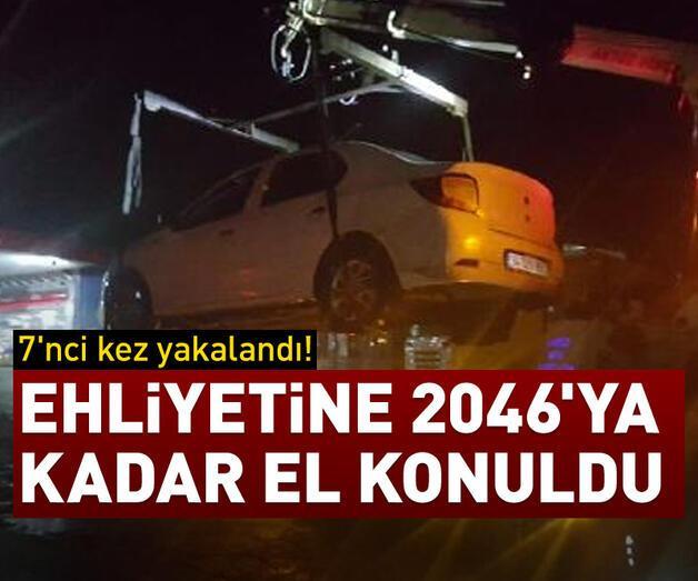Son dakika: Ehliyetine 2046'ya kadar el konuldu