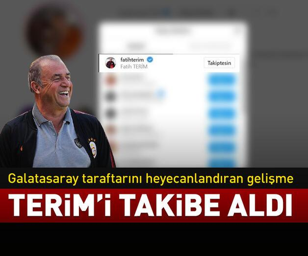 Son dakika: İrfan Can Kahveci, Fatih Terim'i takibe aldı!