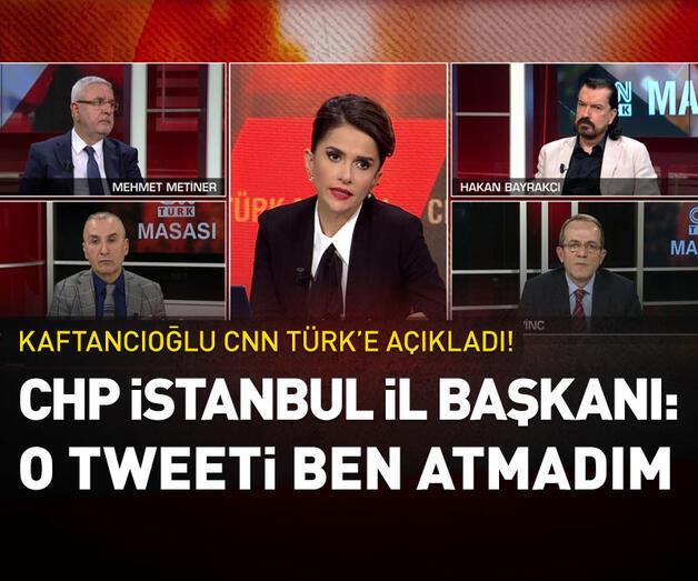 Son dakika: CHP İstanbul İl Başkanı: O tweeti ben atmadım | Video