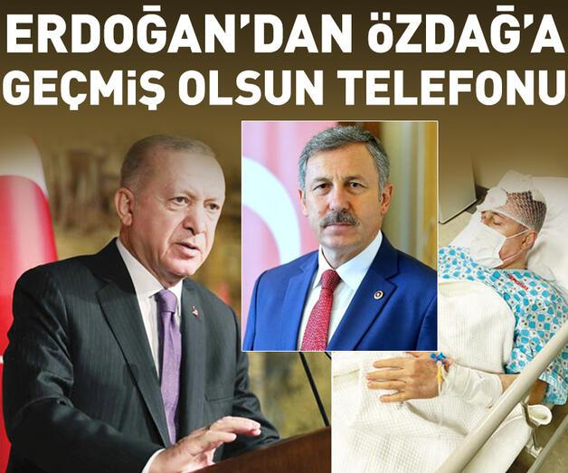 Son dakika: Erdoğan'dan Özdağ'a 'geçmiş olsun' telefonu