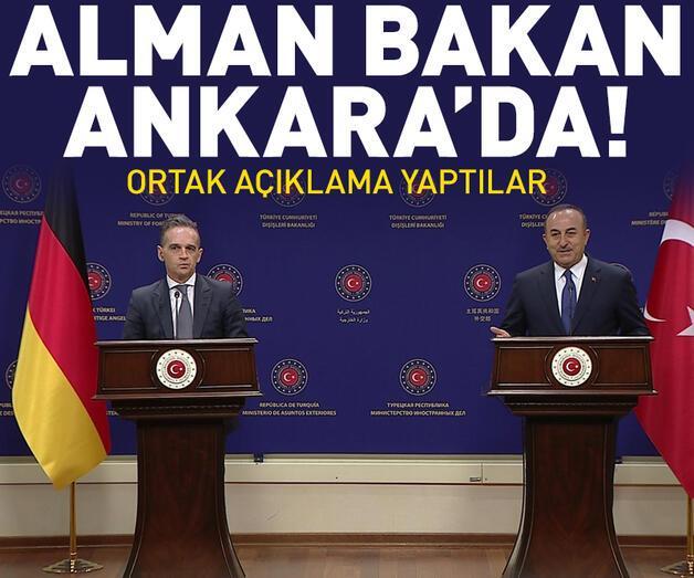 Son dakika: Alman Dışişleri Bakanı Ankara'da