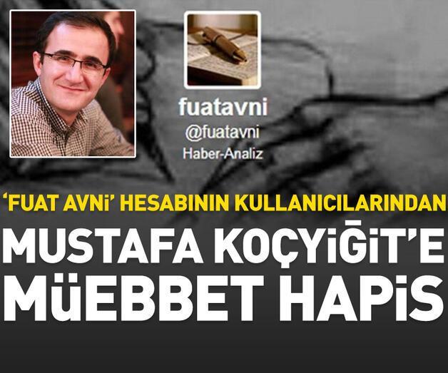Son dakika: Mustafa Koçyiğit'e müebbet hapis