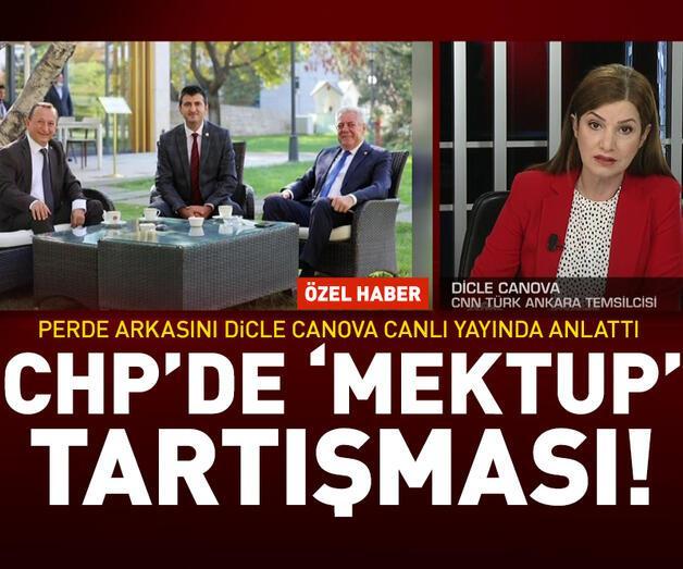 Son dakika: CHP'de 'mektup' tartışması