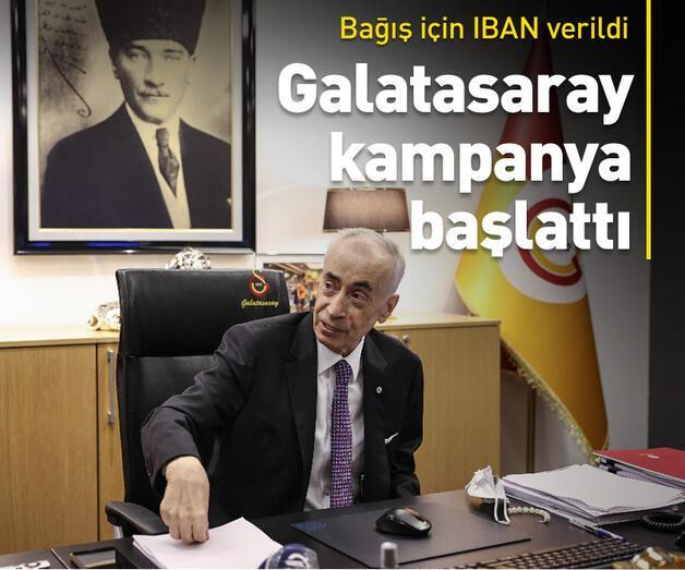 Son dakika: Mustafa Cengiz bağış kampanyasını açıkladı