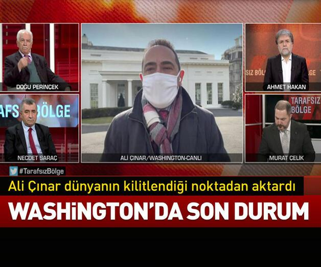 Son dakika: Ali Çınar dünyanın kilitlendiği noktadan aktardı