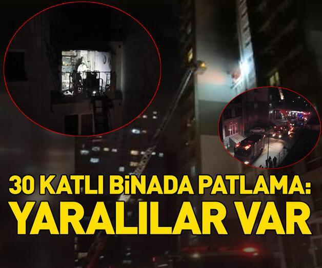 Son dakika: Esenyurt'ta 30 katlı binada patlama! Yaralılar var