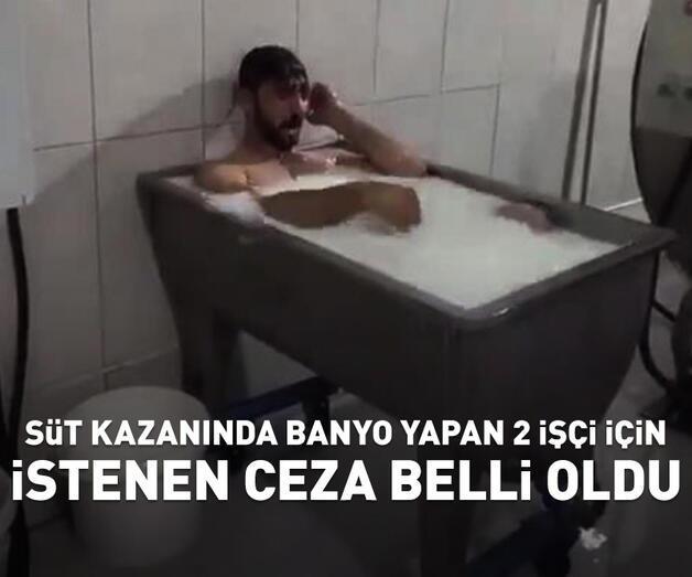 Son dakika: Süt kazanında banyo yapan 2 işçi için istenen ceza belli oldu