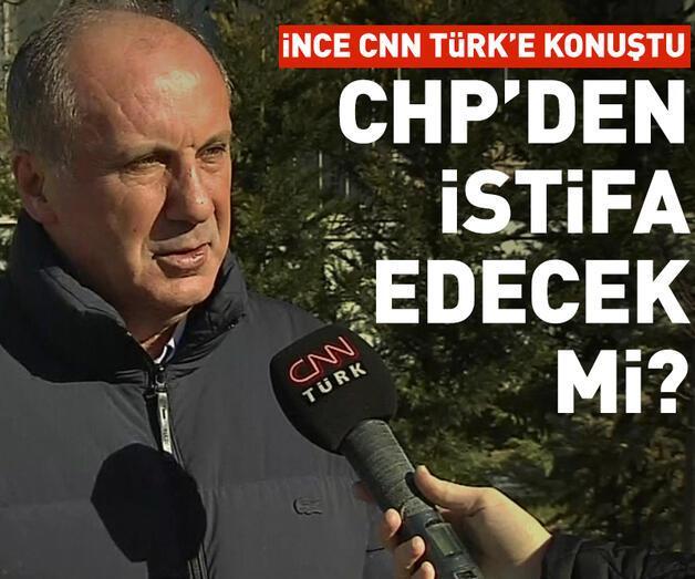 Son dakika: CHP'den istifa edecek mi?