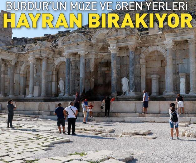 Son dakika: Burdur'un müze ve ören yerleri hayran bırakıyor