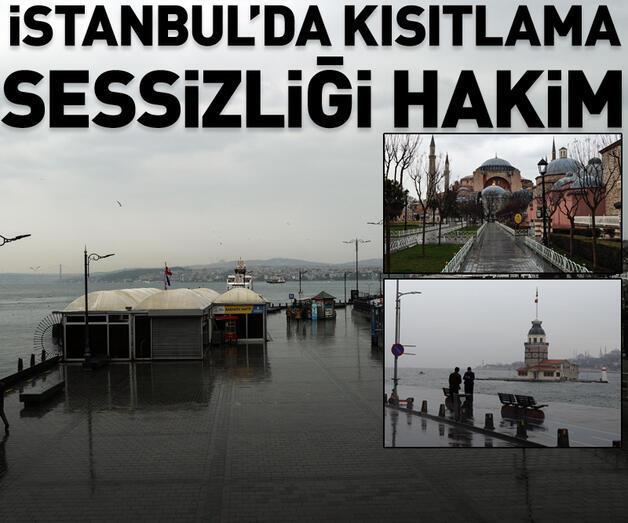 Son dakika: İstanbul'da kısıtlama sessizliği hakim
