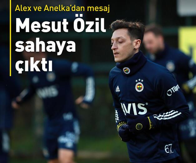 Son dakika: Alex ve Anelka'dan Mesut Özil mesajı