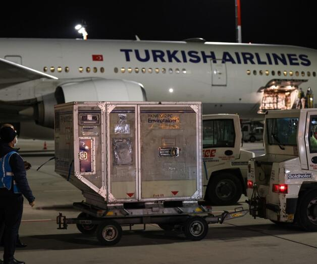 Son dakika: Çin'den sipariş edilen COVID-19 aşılarının ikinci partisini taşıyan uçak Türkiye'de