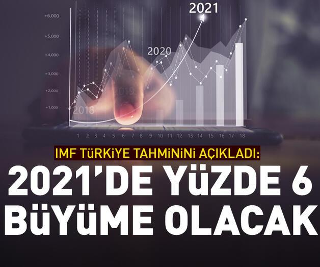"""Son dakika: """"2021'de yüzde 6 büyüme olacak"""""""