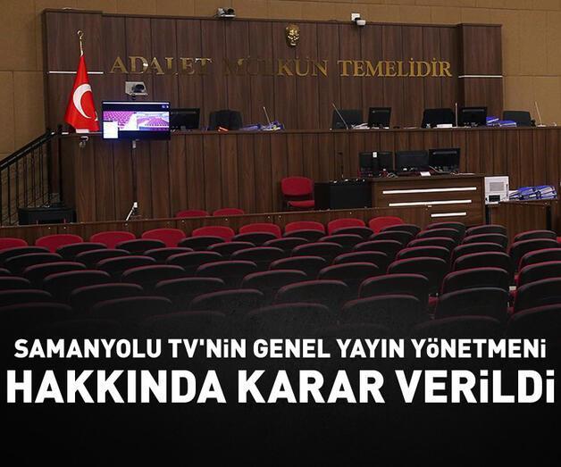 """Son dakika: Kapatılan Samanyolu TV'nin Genel Yayın Yönetmeni Çalık'a """"FETÖ üyeliği"""" suçundan hapis cezası"""