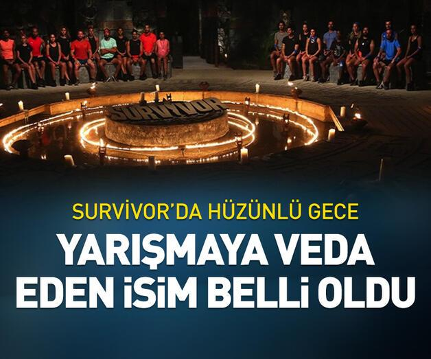 Son dakika: Survivor'a veda eden isim belli oldu