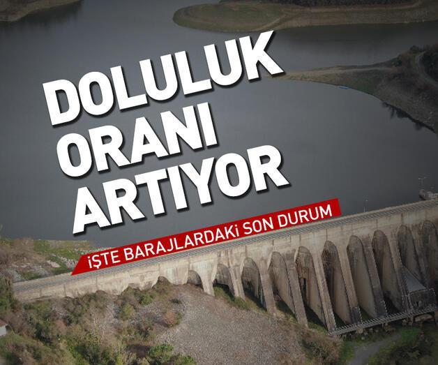 Son dakika: İstanbul'un barajlarından sevindiren haber