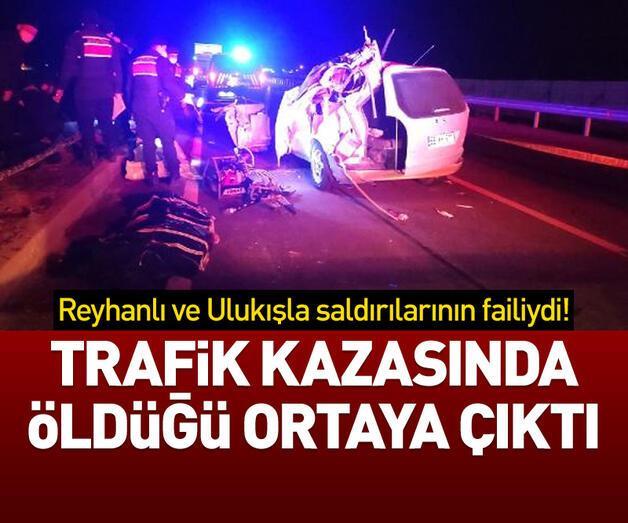Son dakika: Trafik kazasında öldüğü ortaya çıktı