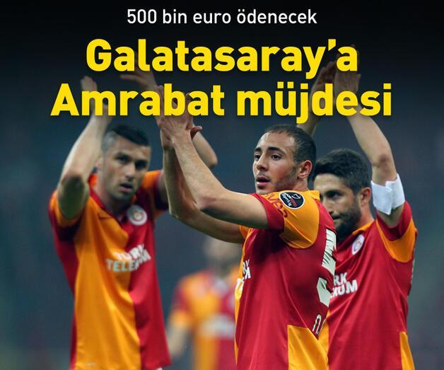 Son dakika: Galatasaray'a Amrabat müjdesi