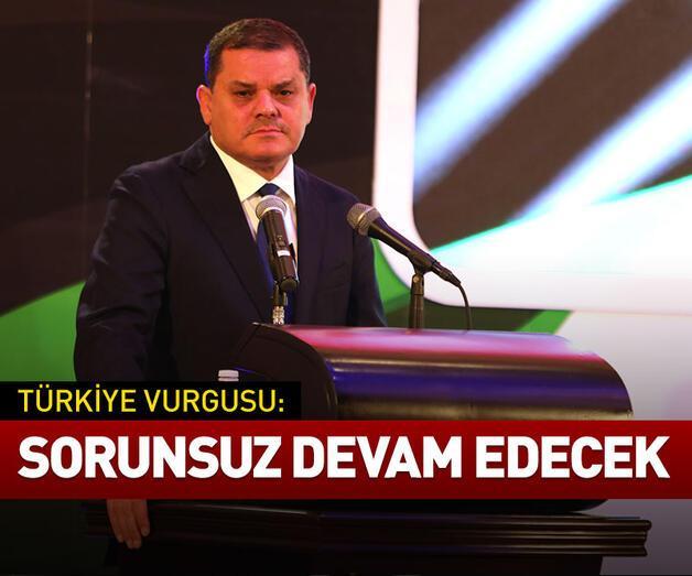 Son dakika: Libya Başbakanı'ndan Türkiye vurgusu