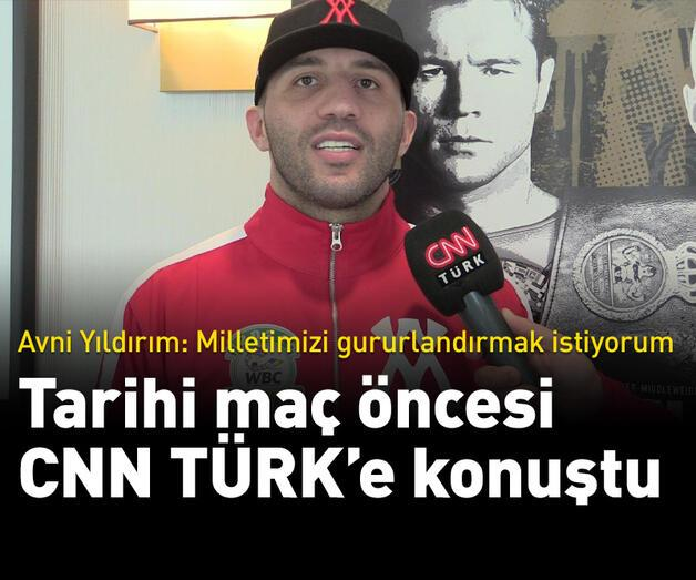 Son dakika: Avni Yıldırım tarihi maç öncesi CNN TÜRK'e konuştu