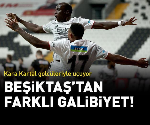 Son dakika: Beşiktaş işi ilk yarıda bitirdi!