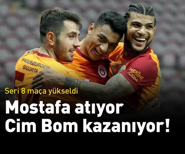Son dakika: Mostafa atıyor, Galatasaray kazanıyor!