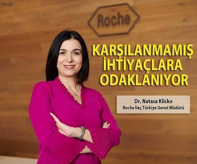 Son dakika: Roche, Hastaların Karşılanmamış İhtiyaçlarına Odaklanıyor