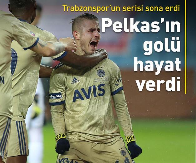 Son dakika: Pelkas Fenerbahçe'ye hayat verdi