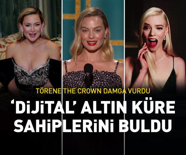 Son dakika: 'Dijital' Altın Küre Ödülleri sahiplerini buldu